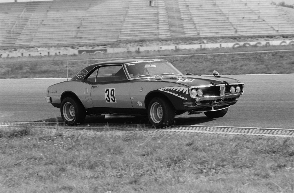 Pontiac Firebird 1967 года участвовал в чемпионате Trans Am