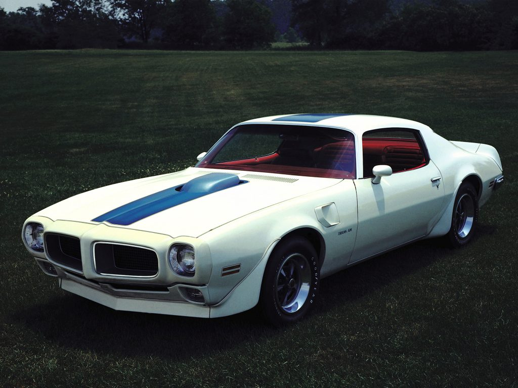 Pontiac Firebird Trans Am 1971 года