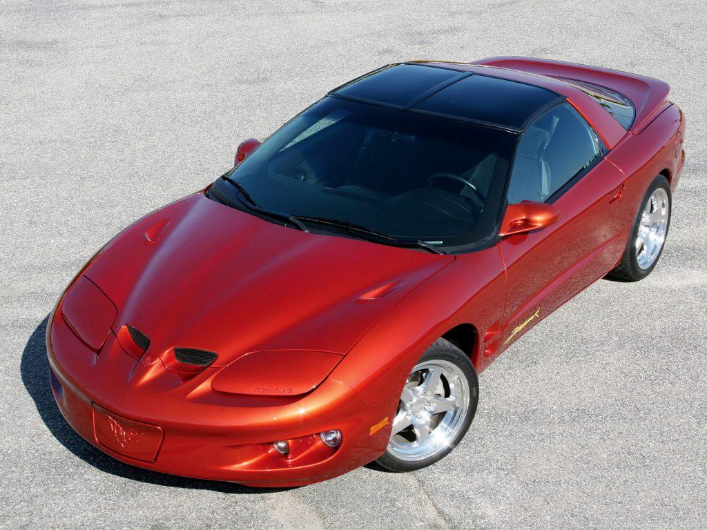 Pontiac Firebird Trans Am 1998 года