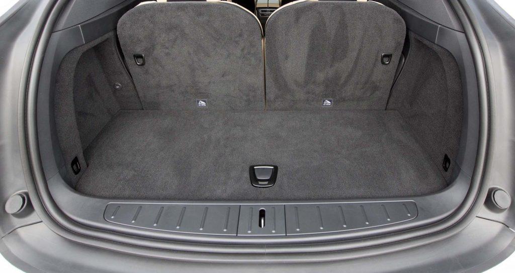 Новый Tesla Model X, багажник