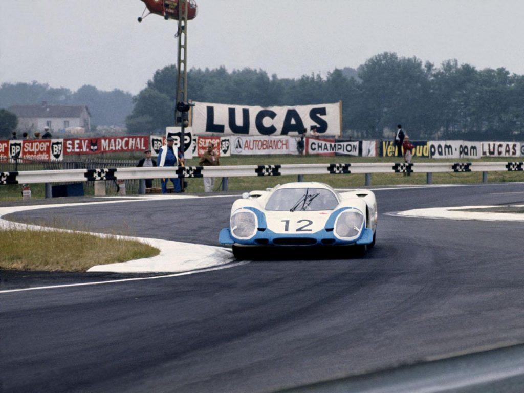 Porsche 917 в гонках