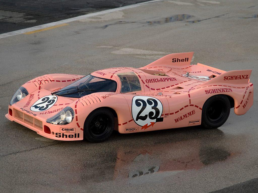 Розовый Porsche 917