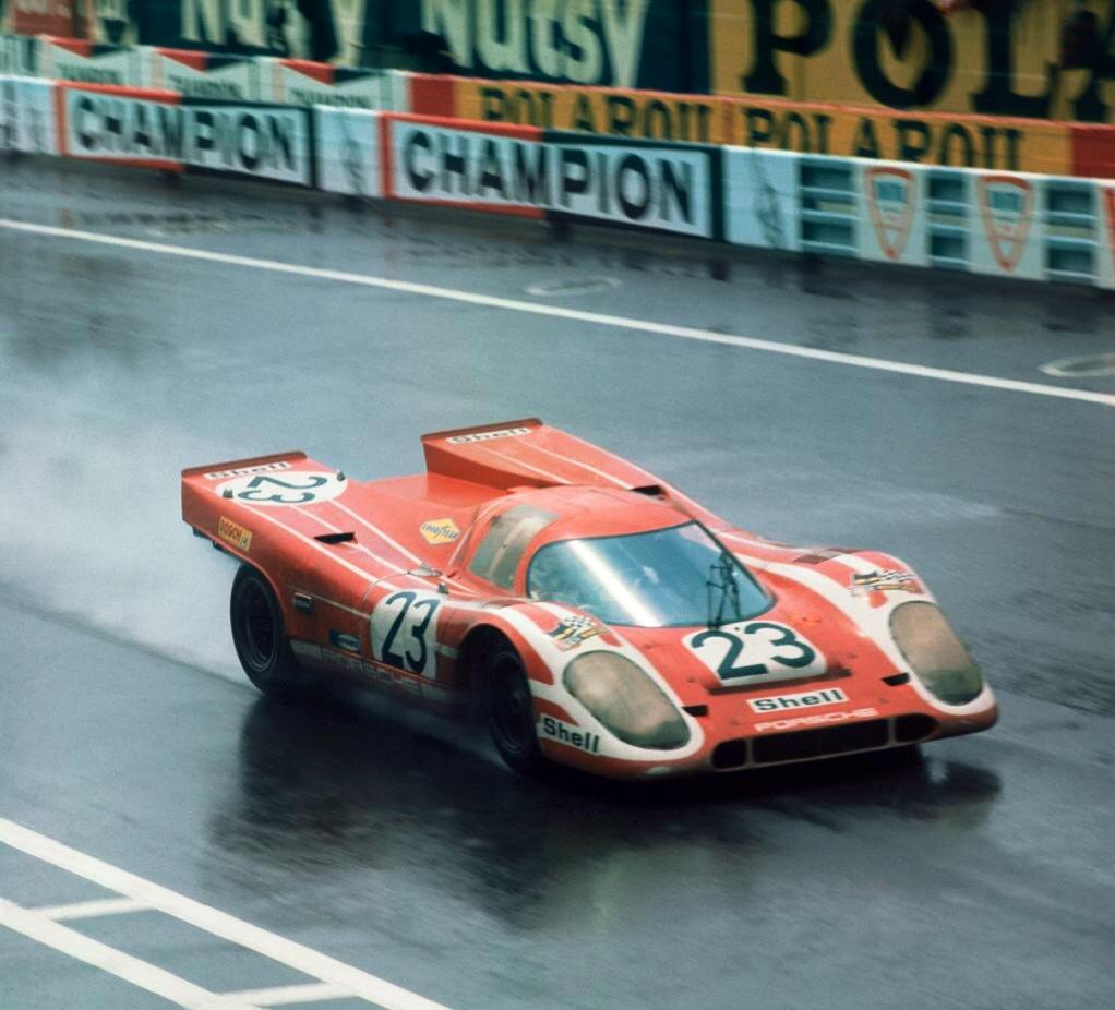 Первый победный финиш Porsche в Ле-Мане