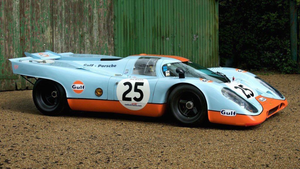 Современная копия Porsche 917