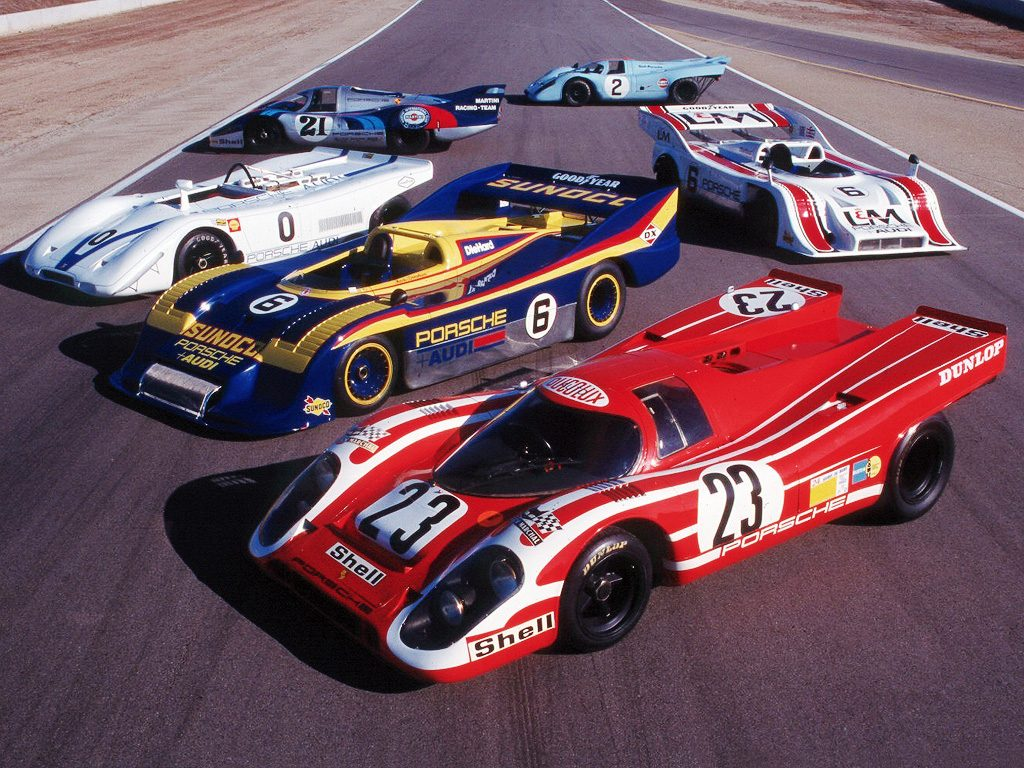 Семейство Porsche 917