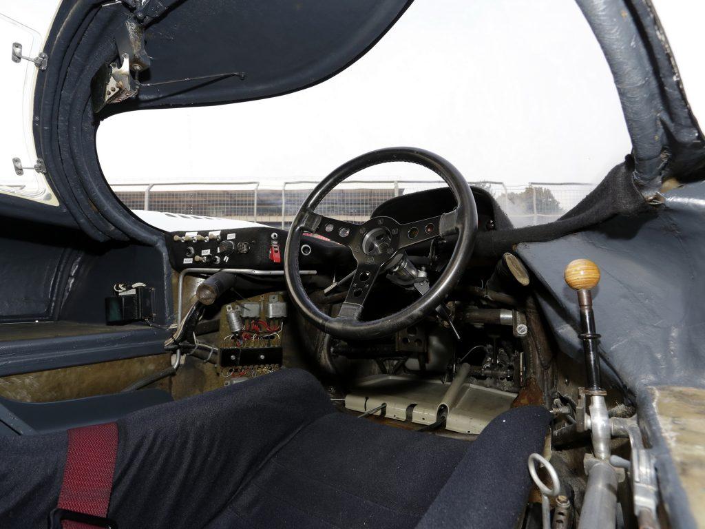 Салон Porsche 917