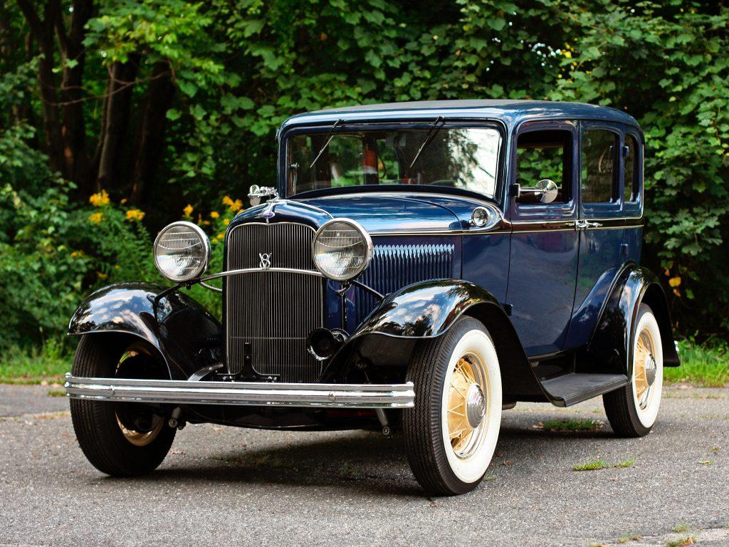 Первый Ford V8 1932 года