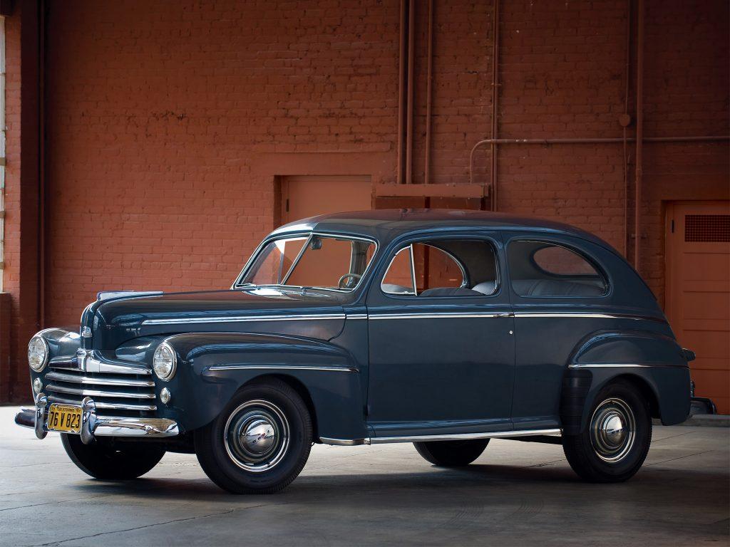 Последний Ford V8, 1948 год
