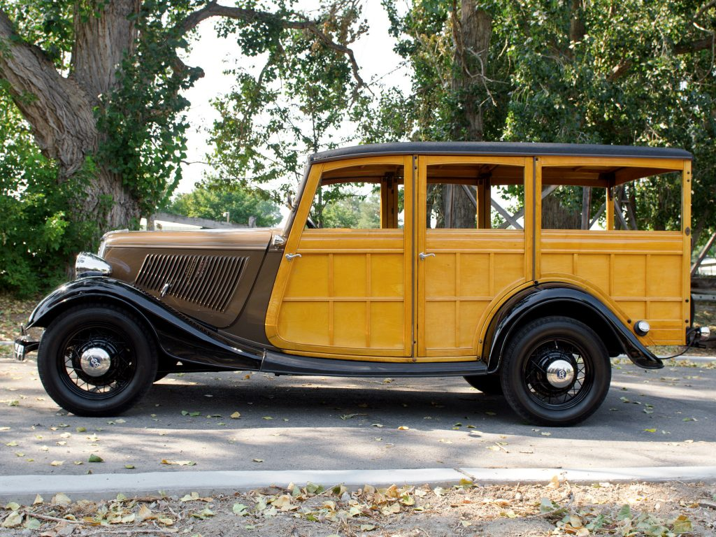 Универсал Ford V8 Model 40 Station Wagon 1933 года