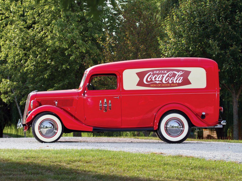 Фургон Ford V8 1936 года