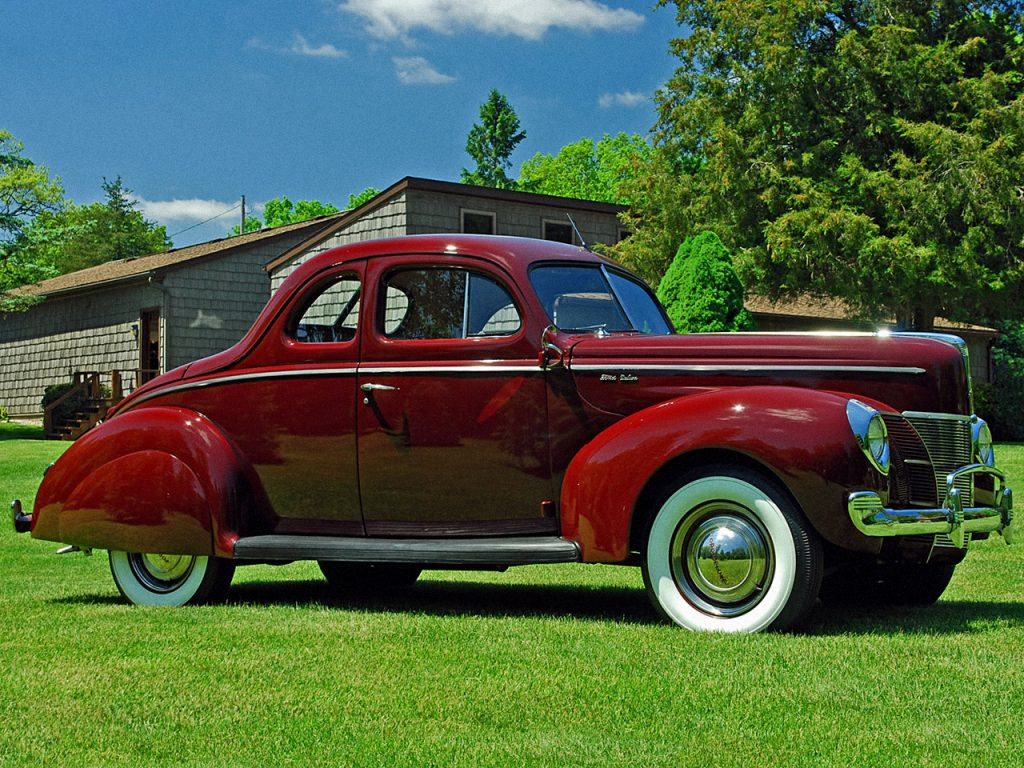 Ford V8 Coupe 1940 года