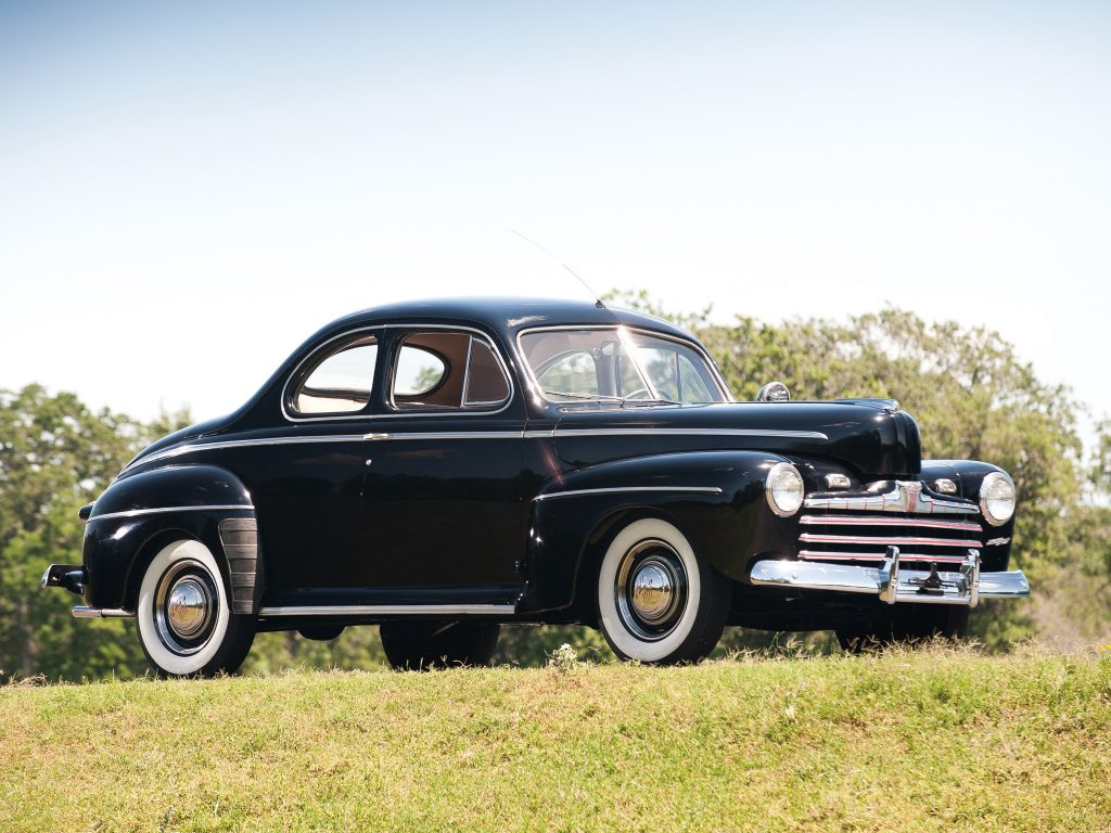 Ford V8 Coupe 1946 года