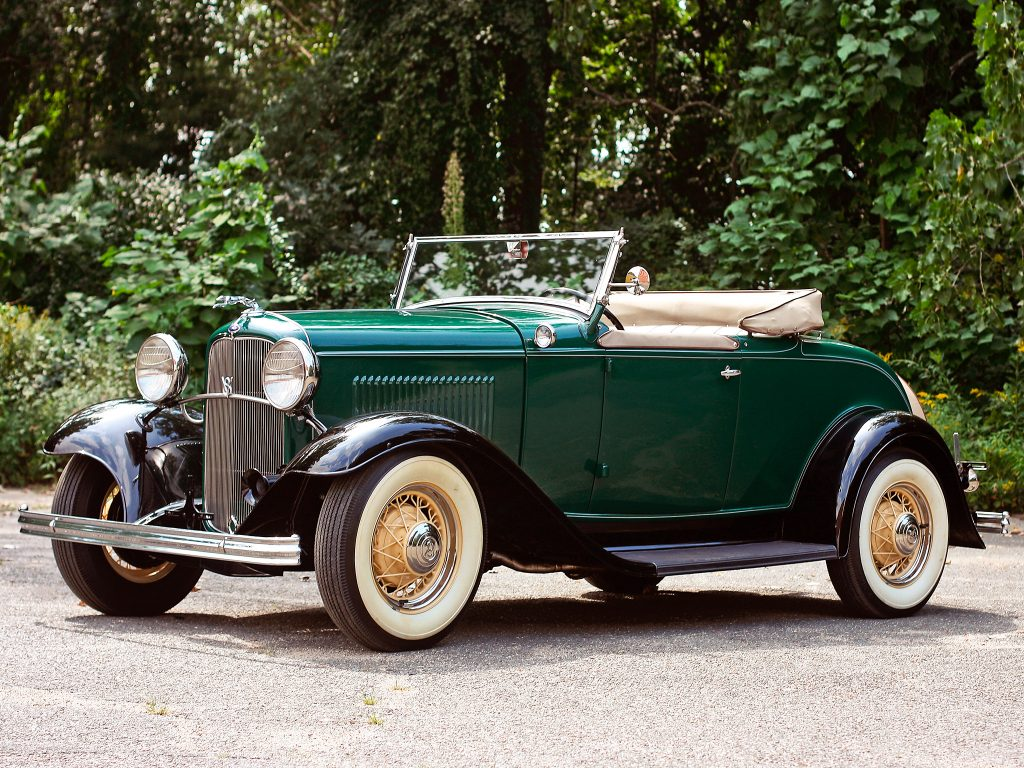 Ford V8 Model 18 Roadster 1932 года