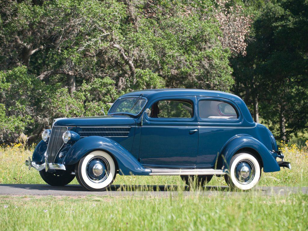 Ford V8 Model 48 Tudor Sedan 1936 года