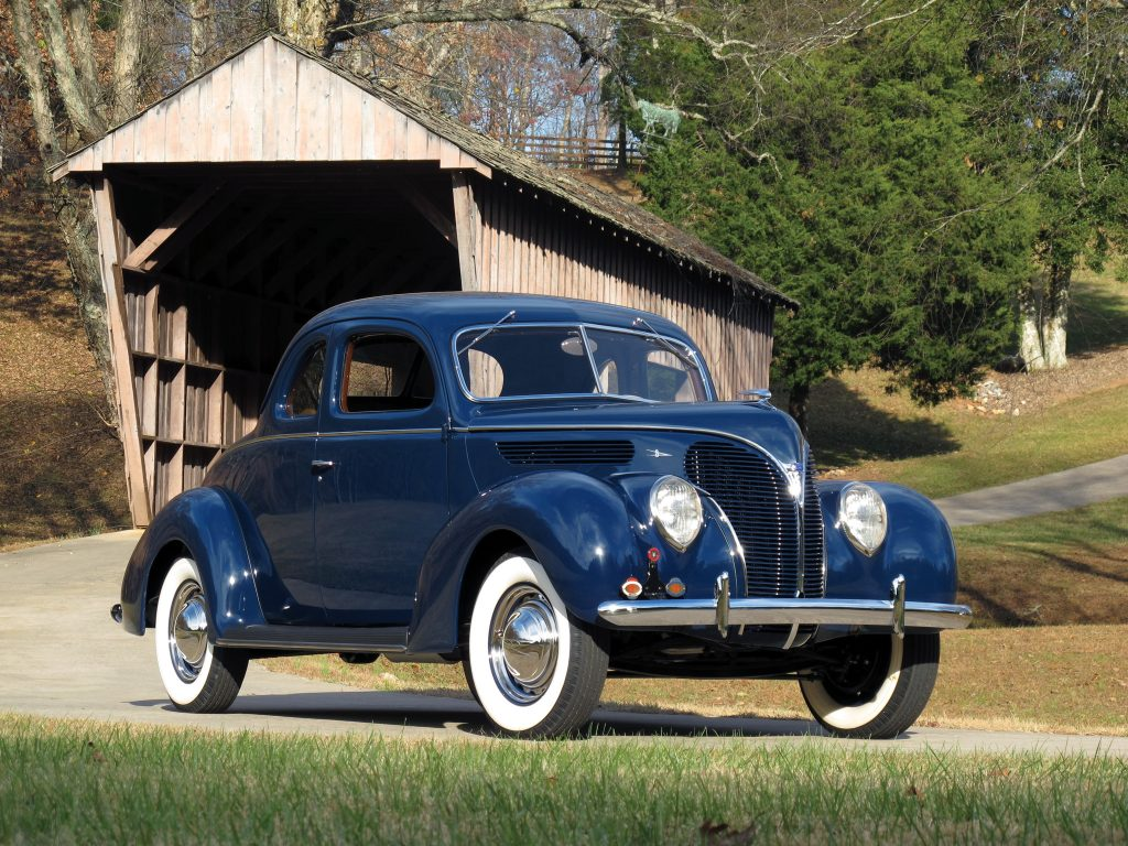 Ford V8 Model 81 Coupe 1938 года