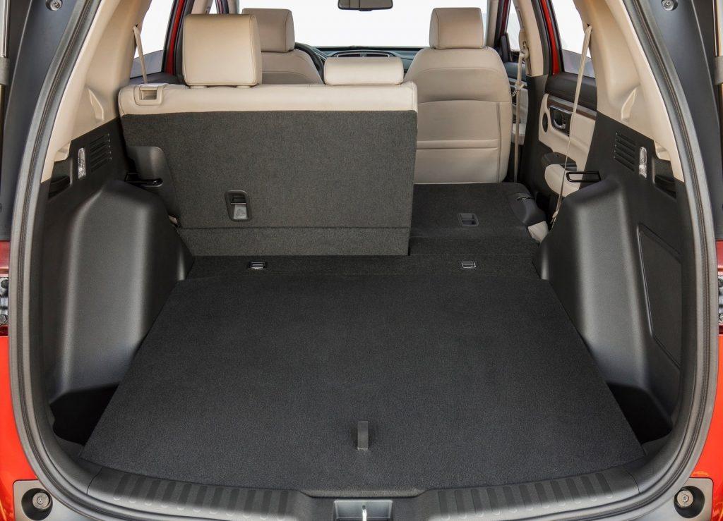 Honda CR-V, багажник