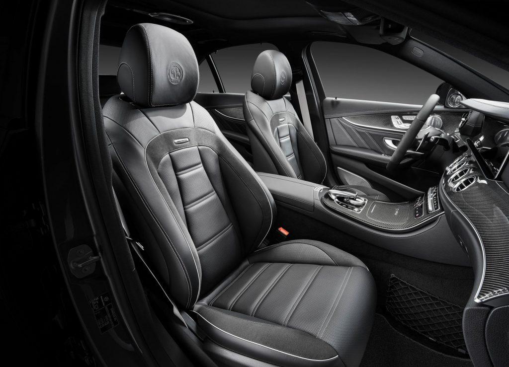 Mercedes-AMG E63, передние сиденья