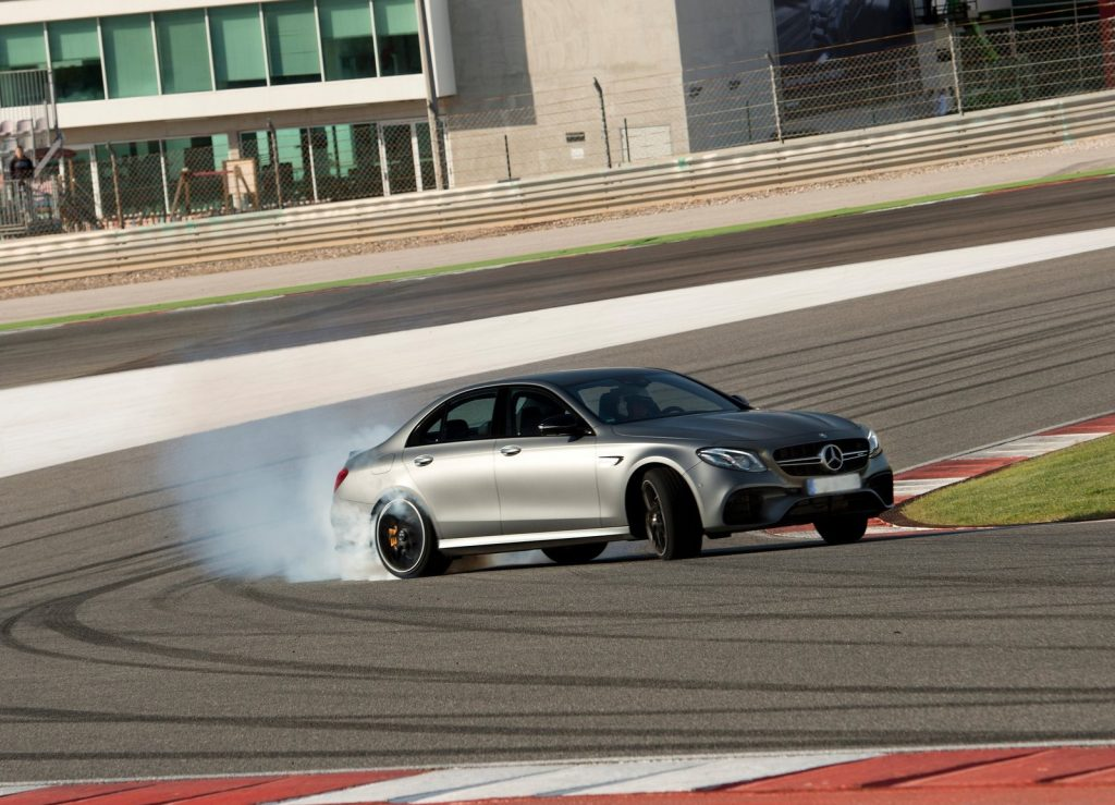 Mercedes-AMG E63, режим Drift