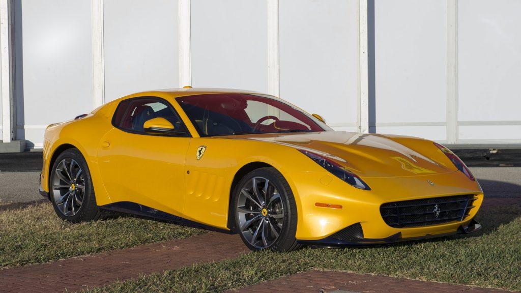 Ferrari SP275 RW Competizione, вид на переднюю диагональ