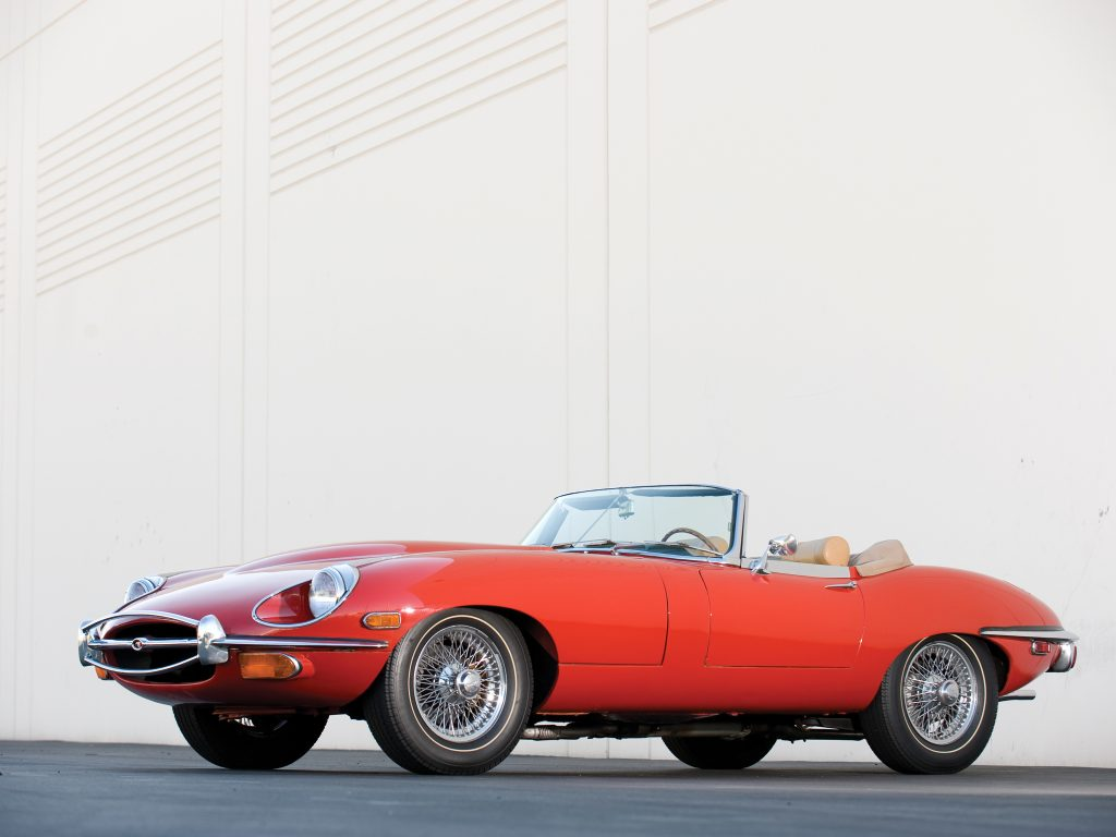 Кабриолет Jaguar E-Type Series II 1969 года