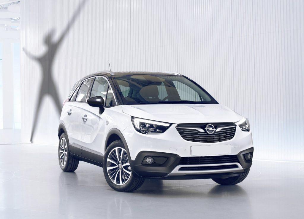 Opel Corssland X 2017, вид спереди