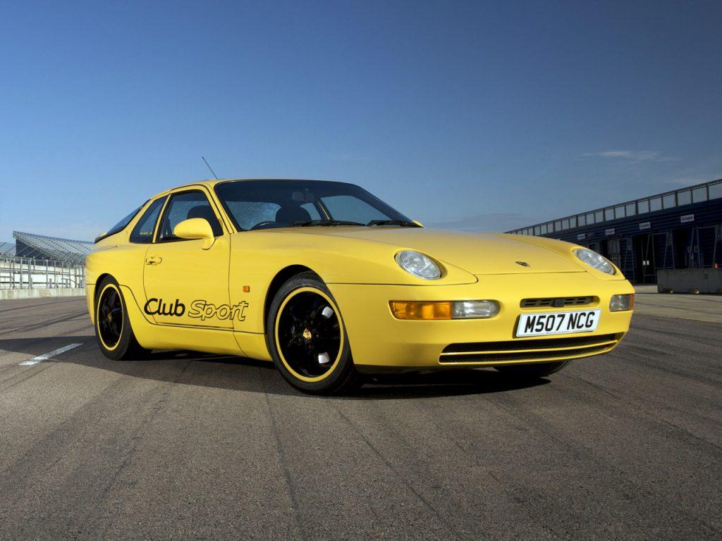 Porsche 968 Clubsport, 1993 год