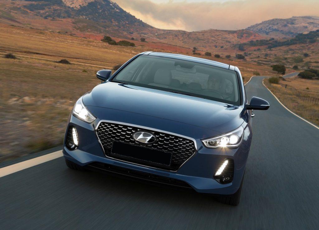 Hyundai i30 2017, вид спереди