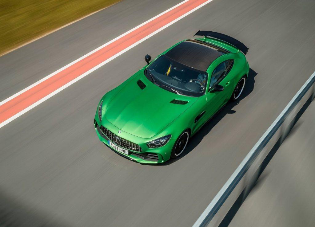 Mercedes-AMG GT R 2017, вид сверху
