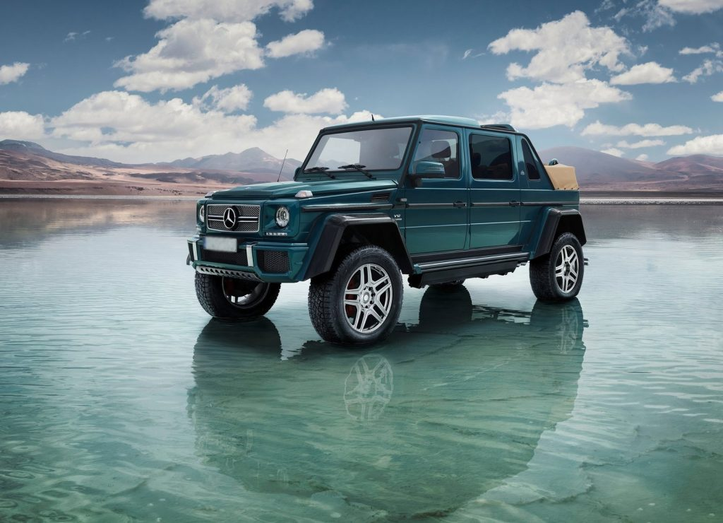 Mercedes-Maybach G650 Landaulet 2017