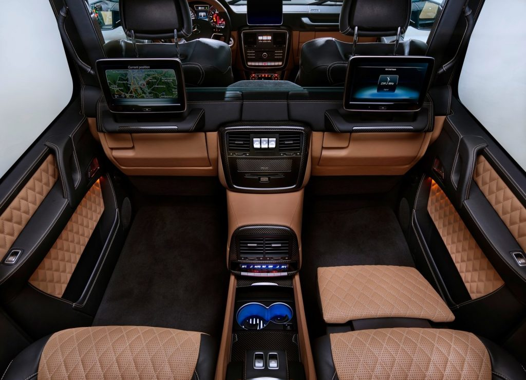 Новый Mercedes-Maybach G650, салон