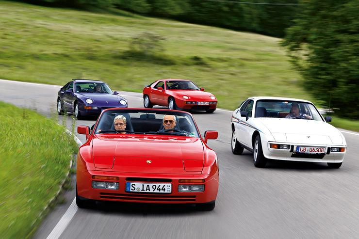 Porsche 924, 944 и 968 отличались компоновкой типа transaxle