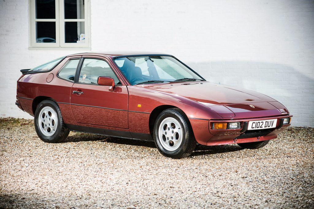 Porsche 924S 1981 года