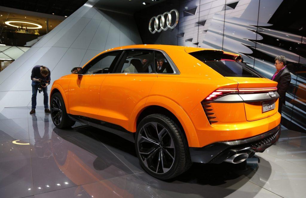 Audi Q8 Sport 2017