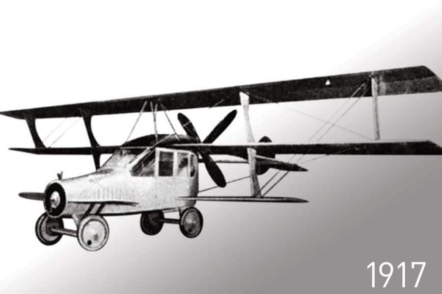 Curtiss Autoplane 1917 года