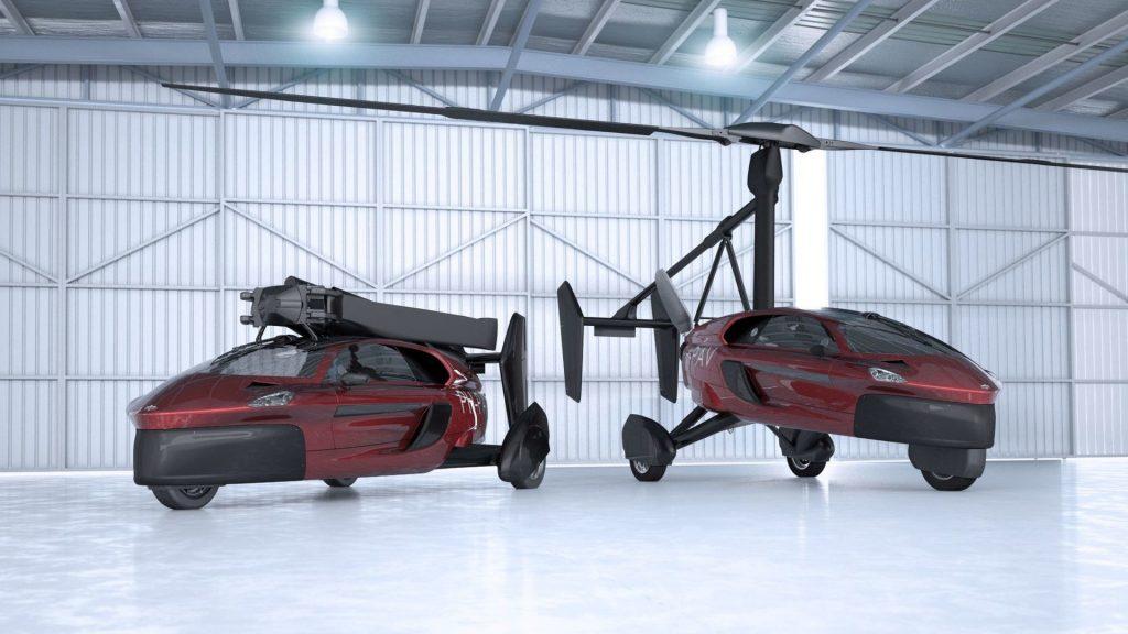 PAL-V Liberty - гибрид автомобиля и вертолета