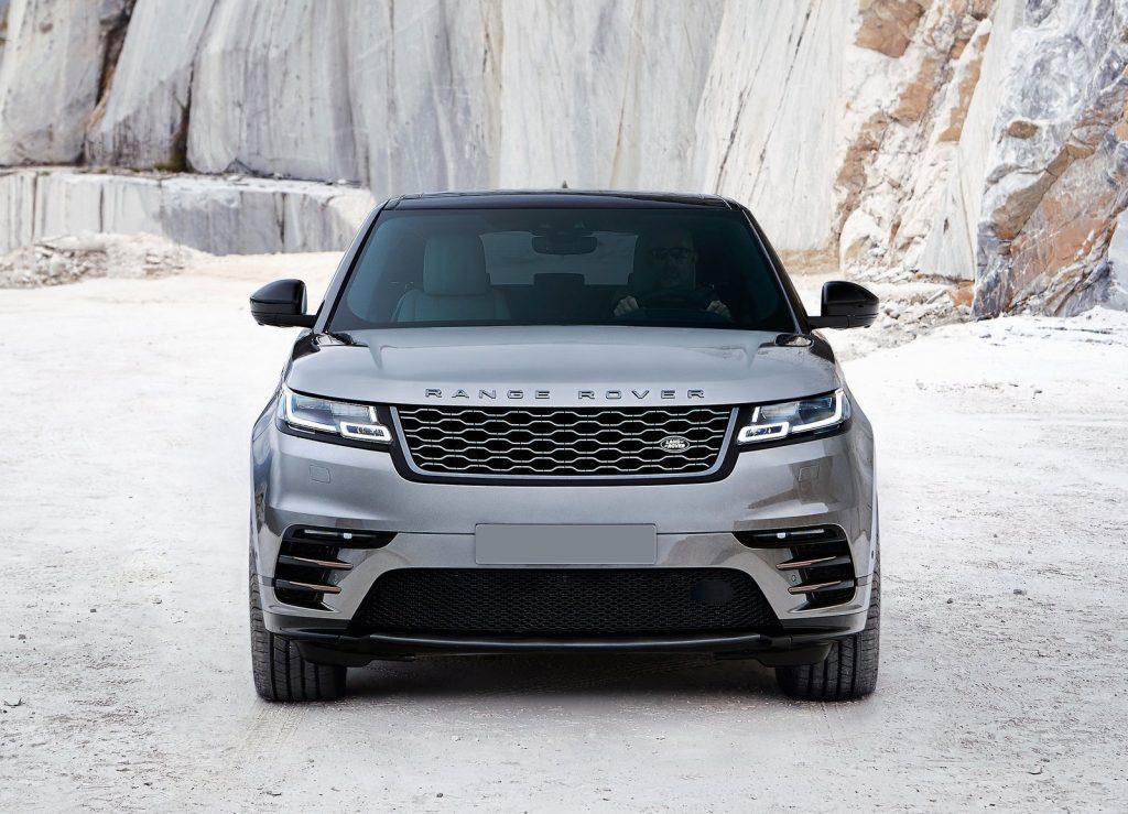 Range Rover Velar 2017, вид спереди