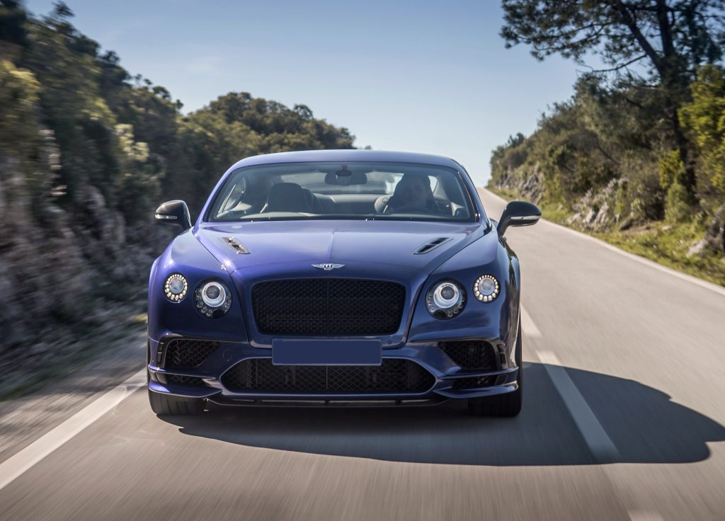 Bentley Continental Supersports 2017, вид спереди