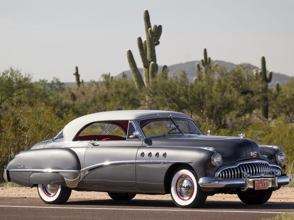 Buick Roadmaster Riviera 1950 года