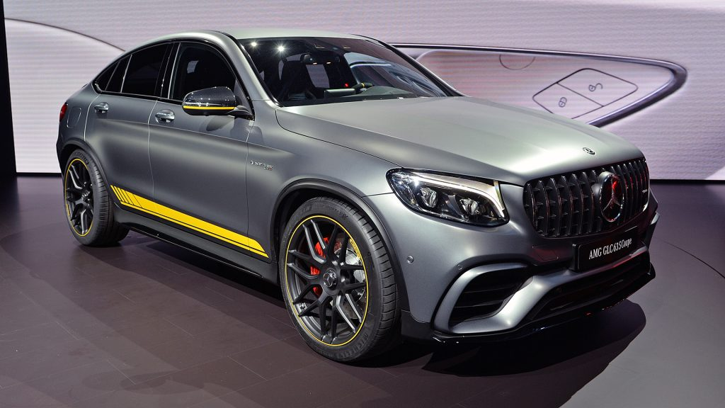 Mercees-AMG GLC63 S Coupe