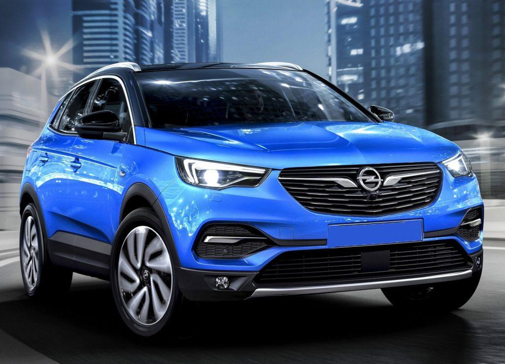 Opel Grandland X2017, вид спереди
