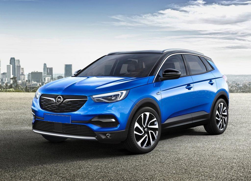 Новый Opel Grandland X, вид на переднюю диагональ