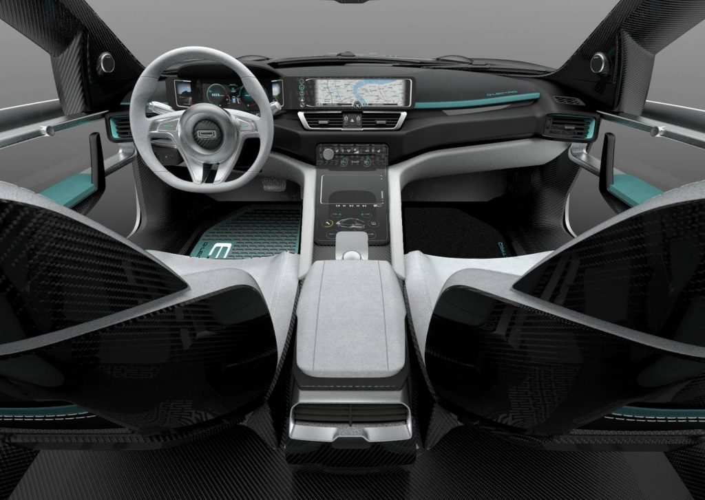 Qoros K-EV, передняя панель
