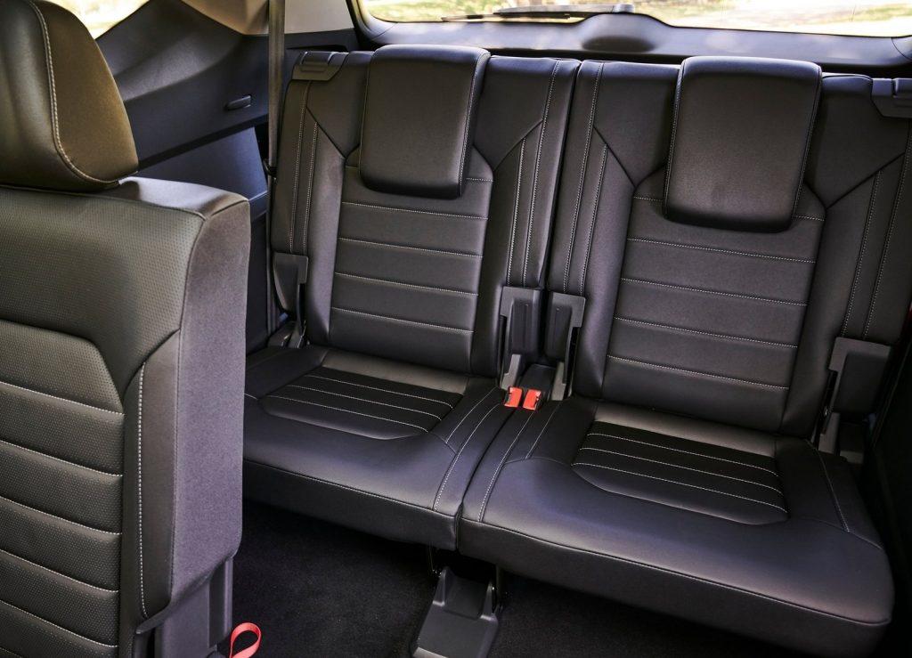Volkswagen Atlas, третий ряд сидений