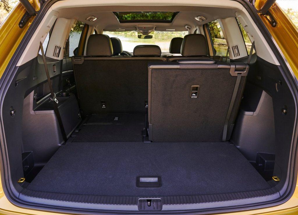 Новый Volkswagen Atlas, багажник