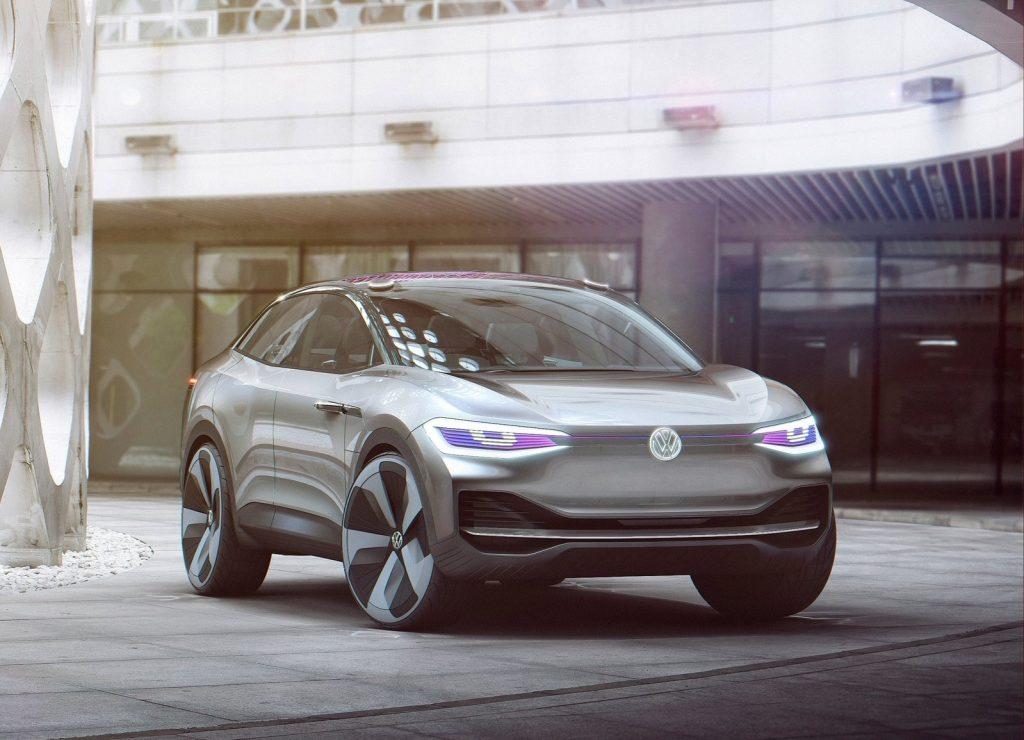 Концепт-кар Volkswagen I.D. Crozz, вид спереди