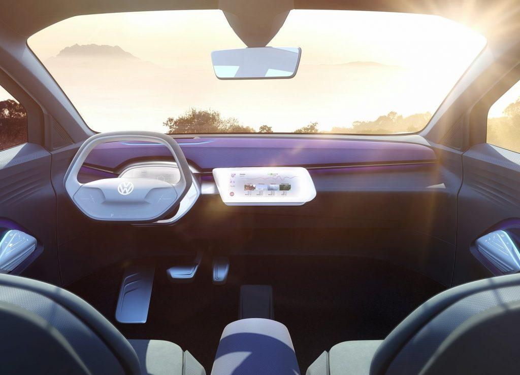 Volkswagen I.D. Crozz, передняя панель