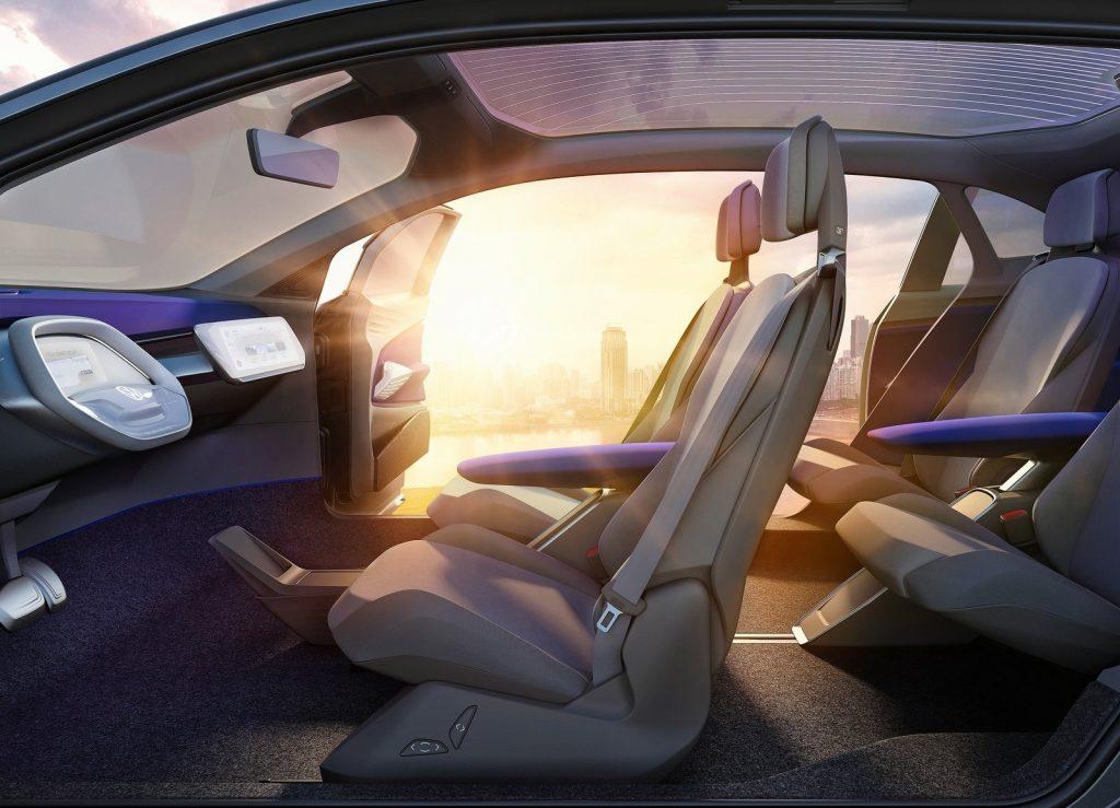 Концепт-кар Volkswagen I.D. Crozz, салон