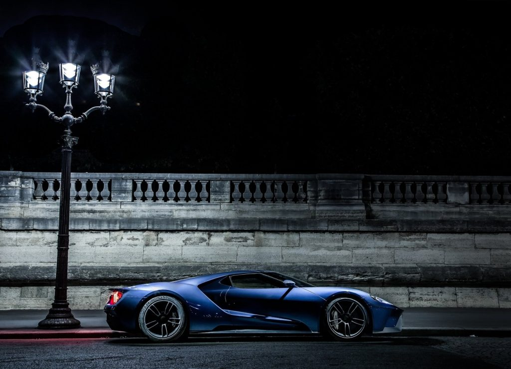 Ford GT 2017, вид сбоку