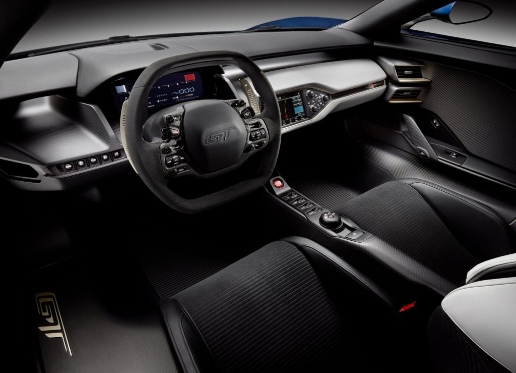 Новый Ford GT, салон