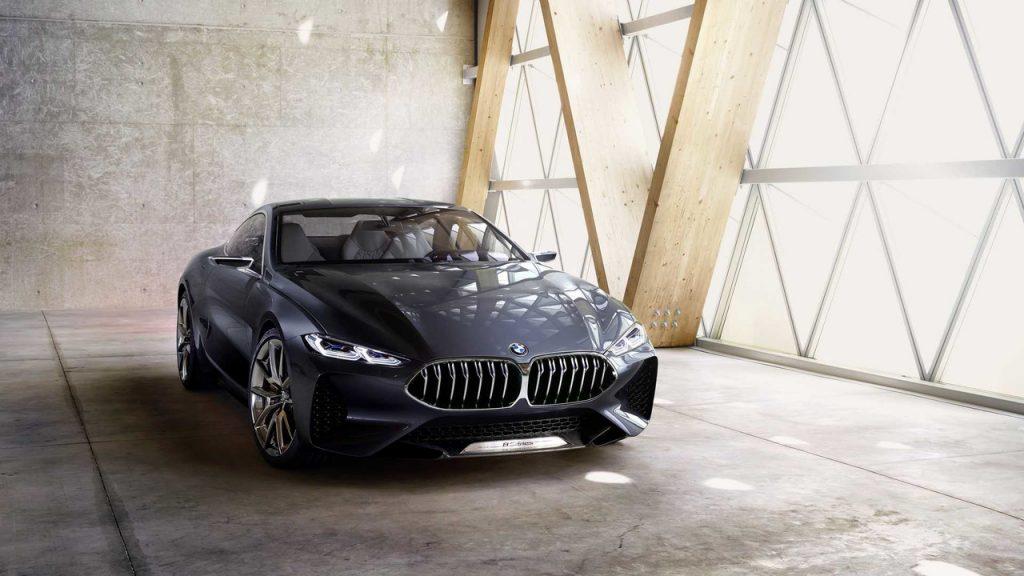 Концепт-кар BMW 8 Series, вид спереди